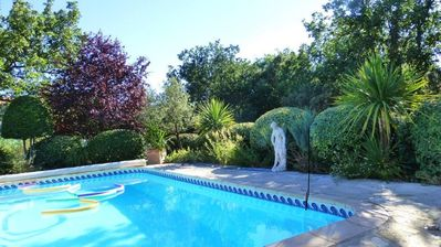 Photo for Holiday at the pool and in the heart of Provence