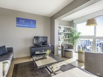 Photo for Cosy apartment for 4 guests with TV and parking