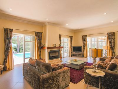 Photo for SEA VIEW VILLA in Vale do Lobo, 1 min walk from beach (350 m from the beach)