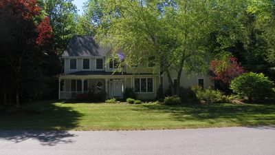 Photo for Spacious Four Bedroom Home with a Country Style Front Porch. Enjoy the Serenity That This Home Provi