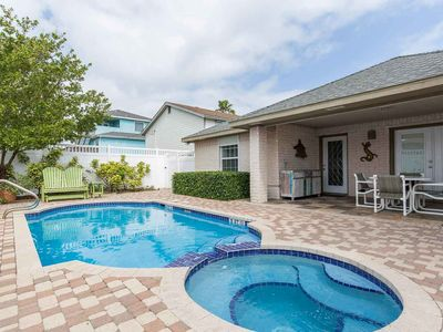 Photo for Family beach home with private pool & spa!
