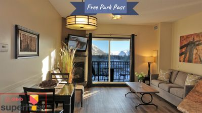 Photo for Mountain View Condo in Canmore's most Comfy Resort