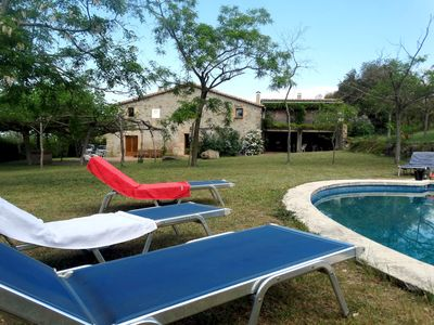 Photo for MAS BEL, ESPECTACULAR MASIA EN LLAGOSTERA CON PISCINA PRIVADA Y WIFI GRATUITO