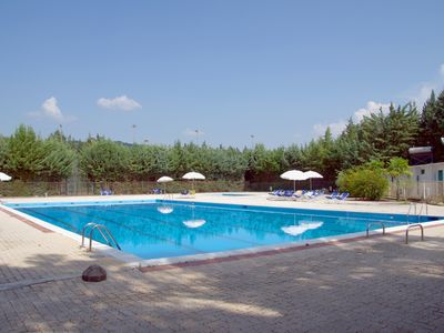 Photo for Country Cottage Colleverde Two-room apartment, 5 km from perugia Riding school, Swimming pool, tennis