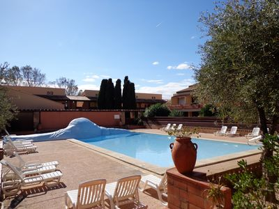 Photo for Comfort + residence on the golf course and 800 meter from the beach