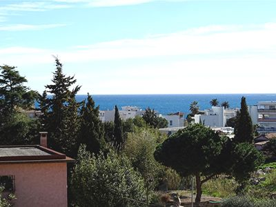 Photo for 2 rooms 50m2, SEA VIEW, South exposure, air conditioning, all comfort, redone.