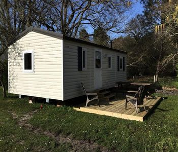 Photo for Camping La Chesnays **** - Mobil Home SYMPA 4 Rooms 6 People