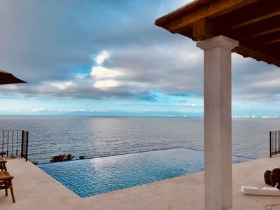 Photo for Private villa- 3 bdrm & 4 bath with ocean views and new private infinity pool