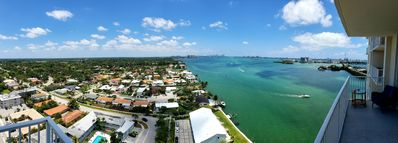 Photo for NEW LISTING! - Gorgeous Bay View, Sunny Side of Miami!