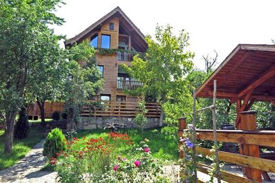 Casa Zollo II • studio apartment at the Carpathian Mountains nearby Sibiu, Transylvania, Romania