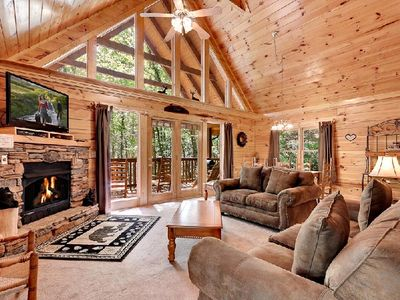 Photo for A perfect cabin for you and your family retreat.