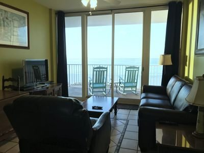 Photo for ~Feel as if you were sitting on Beach , Front door Parking, High Demand Unit !~
