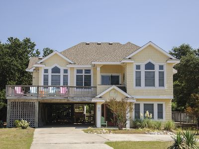 Photo for Flip Flops: Private pool, hot tub, soundside with community pool and tennis courts.