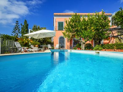 Photo for villa-sea view- private swimming pool- large terrace-garden-air conditioning