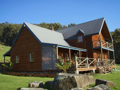 Photo for Fantastic getaway for family or friends with spectacular views.