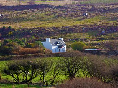 Photo for Detached cottage in quiet secluded location at the foot of the Slieve Miskish Mountains in a v…