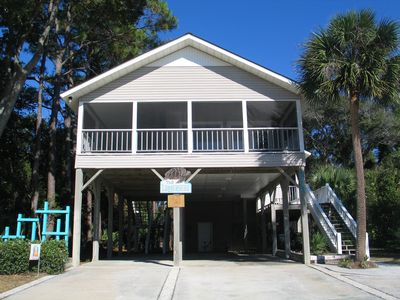 Photo for The Loggerhead:  Family Friendly 4 Bedroom/3 Full Bath 2nd Row With Ocean View!