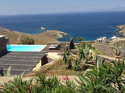Photo for 120sq meters villa with a swimming pool and a great sea view ideal for relaxing