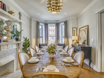 Photo for Stayloom's Gorgeous Luxe Brownstone | near A/C