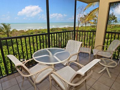 Photo for Two Bedroom, Top Corner, Gulf Front Condo - Pine Cove 1D