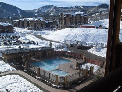 Available Feb/March - SE Sunny Views  of Slopes with separate 1 bedroom