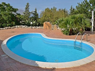 Photo for Scenic Holiday Home in Castellammare del Golfo near Beach