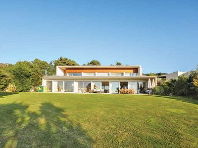 Photo for Stylish 4 bedroom villa with private heated pool, free Wi-Fi and BBQ