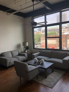 Photo for Cozy Downtown Loft with City Views