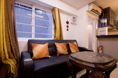 Fully-furnished 2-BR Condo for Rent - QC