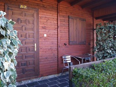 Photo for Cabin or Bungalow Cabañas Maleixas for 2 people