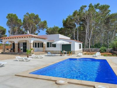 Photo for 4 bedroom Villa, sleeps 7 in Cala Blanca with Pool and WiFi