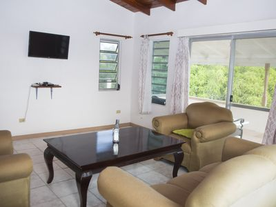 Photo for Spacious villa in mature gardens, near beaches, shops and reputable schools.