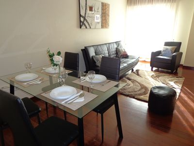 Photo for Beautiful apartment with terrace 4 km from Santiago de Compostela