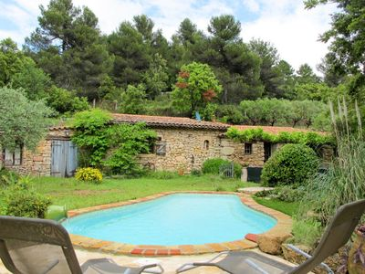 Photo for 2 bedroom Villa, sleeps 4 in Lentier with Pool and WiFi