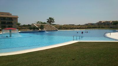 Photo for SENSATIONAL SEMI-DETACHED HOUSE TO RELEASE .... POOL OF 1.00 m2. WITH CIUCUITO SPA.