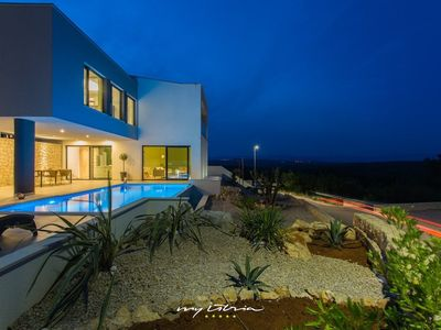 Photo for Amazing villa with pool on the island of Krk