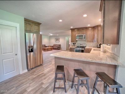 Photo for Beautiful remodel RIGHT ON THE GOLF COURSE! Perfect for families.