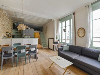 Photo for Beautiful flat for 4-6p near Place des Vosges