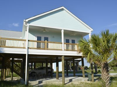 Photo for Brand New Charming Sound Side Beach Home