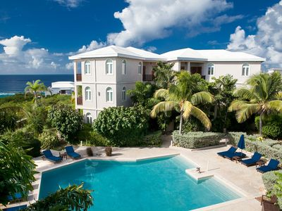 "Photo for Fountain Anguilla by ""Refined Retreats""~2 HUGE KING SUITES~Full Kitchen~2 Balconies!"