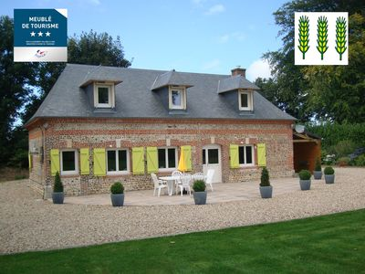Photo for Gîte Les Châtaigniers - Normandy-Fecamp - 3 bedrooms - 140m² + 2500m² park
