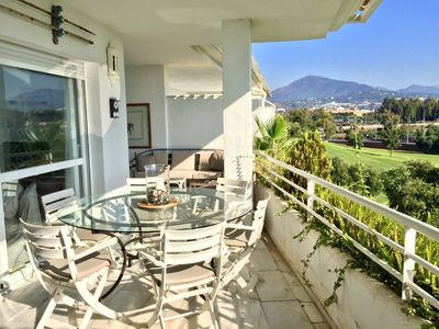 Photo for Duplex penthouse overlooking the golf Guadalmina Baja Marbella