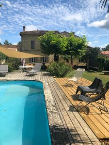 Photo for Typical Girondine House, Near St Emilion, Private Pool