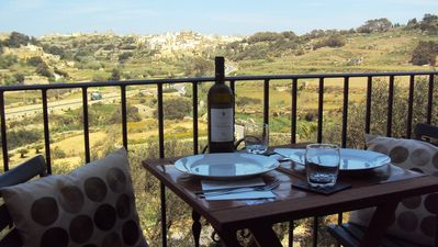 Photo for Modern, 2 Bedroom Apartment with views in Gozo (Malta), free WiFi, A/C