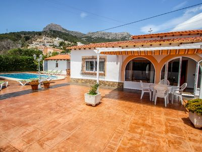 Photo for Mercedes - comfortable holiday accommodation in Calpe