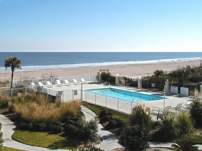 DeSoto Beach Club Condominiums - Unit 207 - Swimming Pool - Spectacular Views