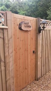 Private Entrance to East Lodge