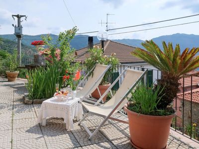 Photo for Vacation home Marco (CSB130) in Colle San Bartolomeo/Cesio/Caravonica - 4 persons, 2 bedrooms