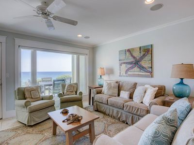 Photo for Lovely Santa Rosa Beach vacation rental - Gulf-front balcony & pool on-site!