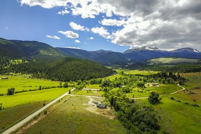Beautiful country location in the Tobacco Root Mountains foothills